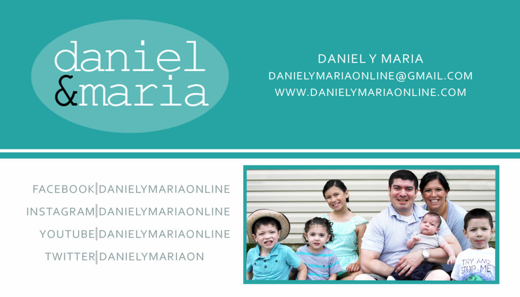 Daniel y Maria family new copy