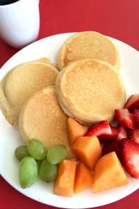 Fruta y cafe