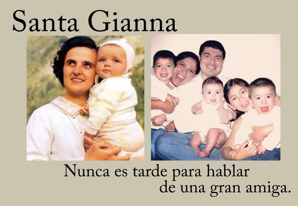 Santa Gianna copy