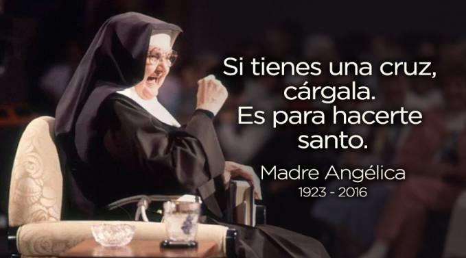 Madre Angelica Cruz